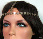 Headband métal bronze