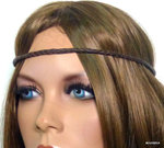 Headband cordon Cuir