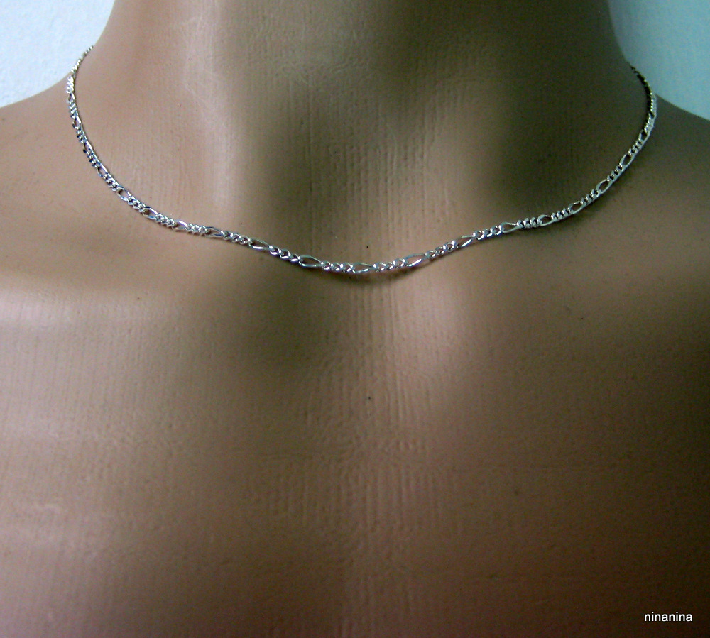 collier homme argent massif