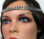 Headband maille gourmette Acier inoxydable