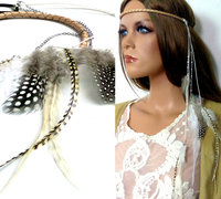 Accessoires Headband plumes