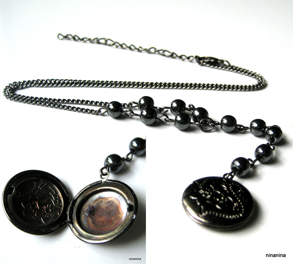 N3674_collier_porte-photo_metal_noir