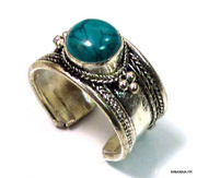 N4739lBD_bague_ethnique_turquoise_argent_tibetain