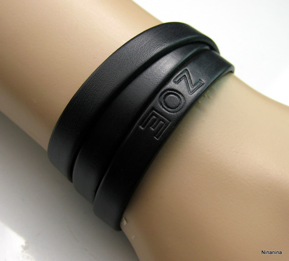 bracelet cuir avec prenom