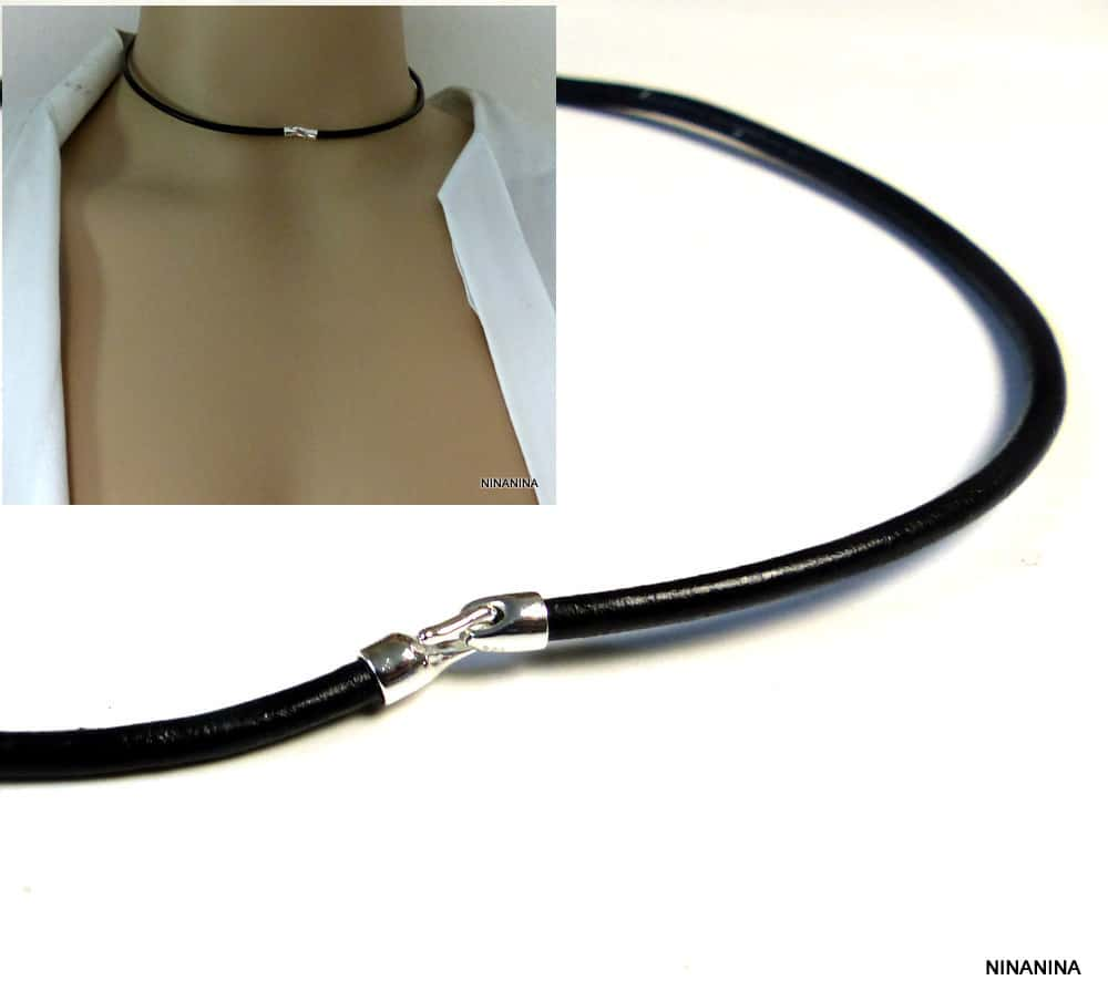 fermoir pour collier cordon