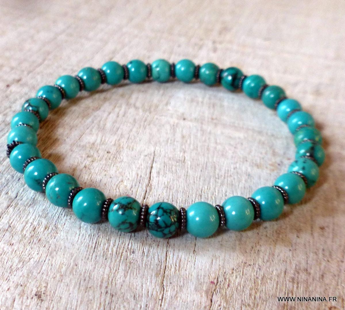 10 Mm Naturel vert émeraude en quartz avec pyrite perles rondes Extensible Bracelet